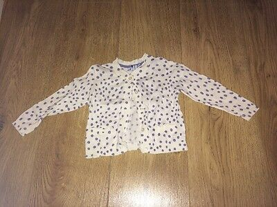 ��baby Girl Cardigan Mothercare 9-12 Months