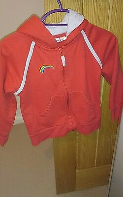 Rainbows Girl guiding hoody (sml) and tracksuit bottoms (sml)