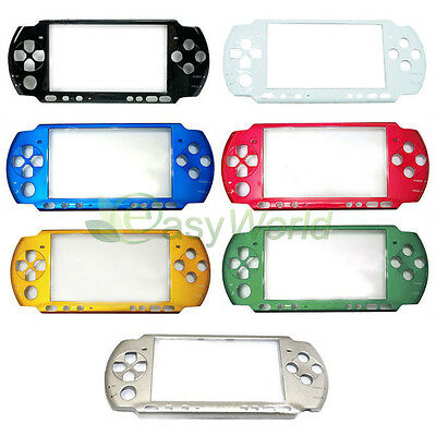 Front Faceplate Shell Case Cover Replacement For Sony PSP 3000 3001 3006 New
