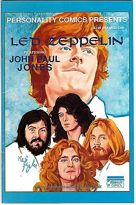 Personality Comics Presents Led Zeppelin #4: John Paul Jones (1992)  VG/FN  1st
