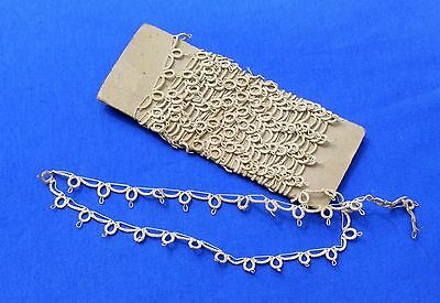 Unusual  Vintage Tatted Tatting Lace Trim