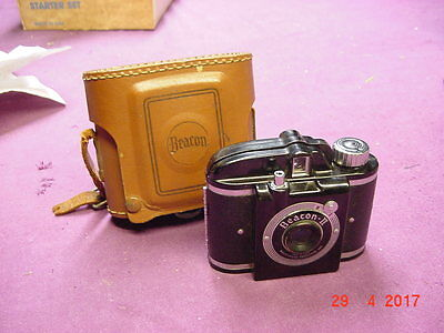 Vintage Beacon II Camera  with Case Whitehouse Products Brooklyn NY