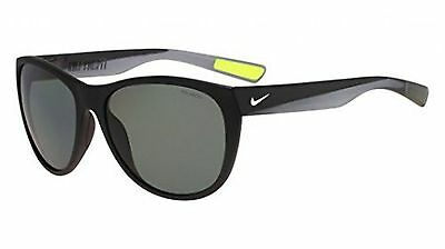 Nike Golf Compel P Sunglasses, Matte Black/Silver Frame, Polarized Grey Lens