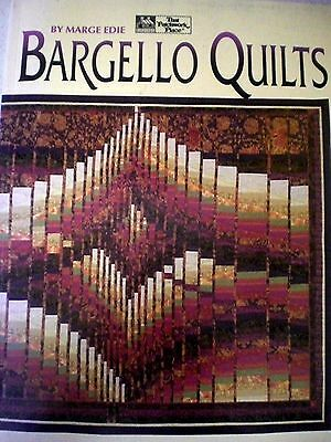 BARGELLO QUILTS, STEP-BY-STEP, VGC  by MARGE EDIE   Quilting Crafts s/c book