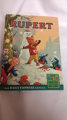 RUPERT BEAR 1962 Annual by The Daily Express (002)