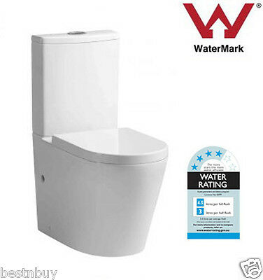 Toilet Suite Back To Wall Ceramic Soft Close Pp Seat - P Or S Trap