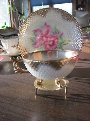 """* Vintage """"Norcrest"""" Tea Cup & Saucer! Made in Japan!! S0oo Pretty!***"""