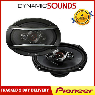 "Pioneer TS-A6934I 6 x 9"" Inch 4-Way Coaxial Car Speakers 600 Watt"