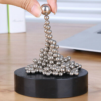 Magnetic Sculpture Steel Ball Vent Stress Relief Kids DIY Fidget Office Desk Toy