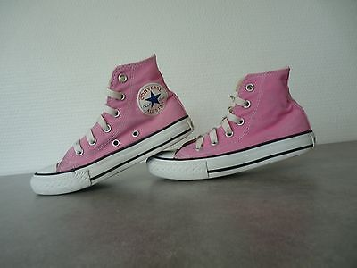 Converse All Star taille 29 rose fille