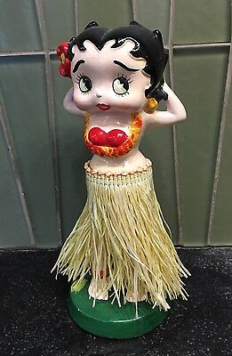 Betty Boop Hawaiian Hula Girl Wiggler Doll Candor 1984
