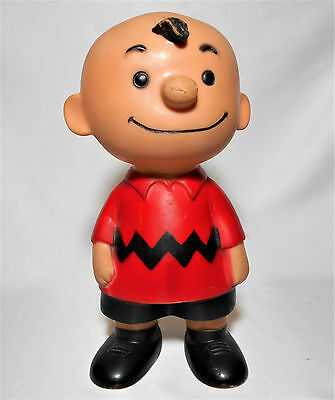 Charlie Brown Peanuts BLOW MOLD DOLL United Features
