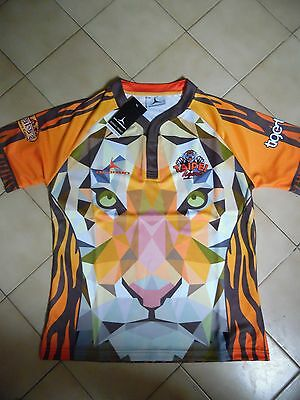 Maillot rugby des taipei tigers rare neuf étiquette taille L