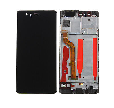 For Huawei P9 Standard EVA-L09 LCD Display Touch Screen Glass Assembly + Frame