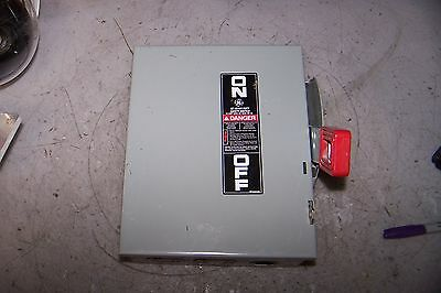 Ge 30 Amp Non-Fused Safety Switch 600 Vac 30 Hp 3 Phase Thn3361