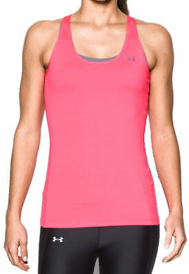 Under Armour Damen Sport Fitness Tank Top UA HeatGear® Armour Racer Tank pink