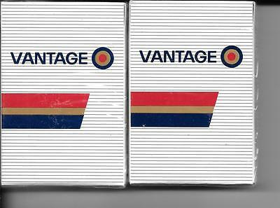 Vantage (Cigarettes) Sealed Decks Of Playing Cards
