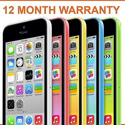 Apple iPhone 5C 8gb 16gb 32gb Blue Green White Yellow Green Unlocked Smartphone