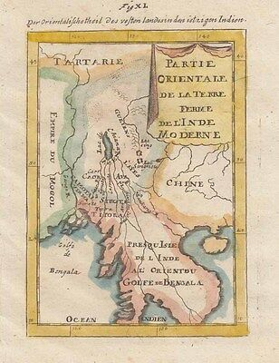 1685 Fine Mallet Map of South East Asia