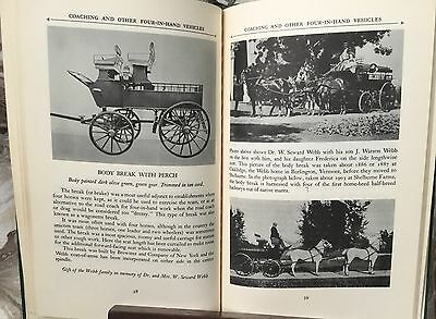 The Carriages at Shelburne Museum book lst edition 1956~ Vermont horse vehicles