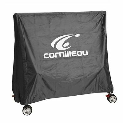 Cornilleau 201901 Table Tennis Table Cover for Rollaway Tables - Grey Polyester