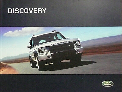 2004 Land Rover Discovery Brochure (U.S. Market)