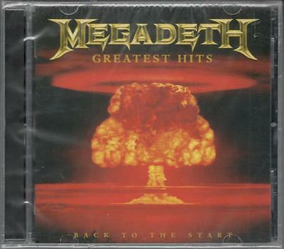 Megadeth Greatest Hits Back To The Start Sealed Cd New