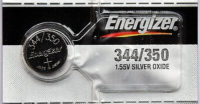 Energizer 344 / 350 Silver Oxide Watch Battery
