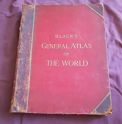 Black's General Atlas Of The World Date 1896