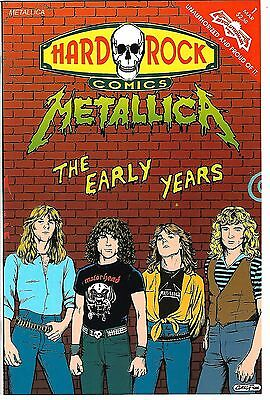 Hard Rock Comics #1  Metallic: The Early Years (1992) VF  1st Print