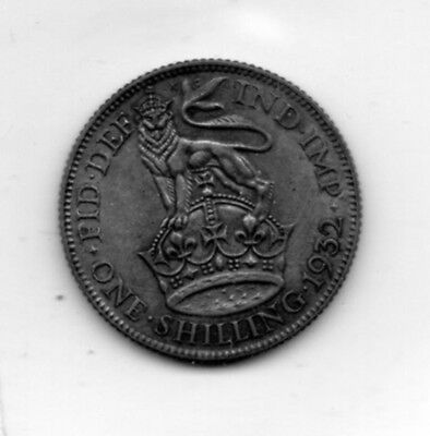 1932 Great Britain Schilling nice collector grade world coin