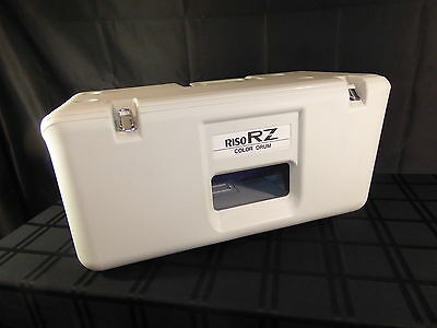 Riso RZ Color Drum BLUE RZ310 Print Ink RZ3 Letter Cartridge, Used(390)