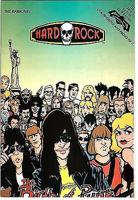 "Hard Rock Comics #10  The Ramones (1993)  FN  1st Print  ""Revolutionary Press"""
