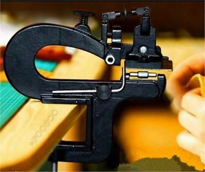 Leather Craft Edge Skiving Machine Leather Splitter Skiver Paring Machine New