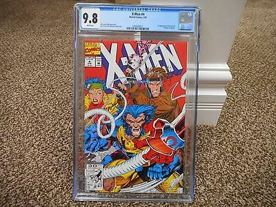 X-Men 4 cgc 9.8 1st appearance of Omega Red Marvel 1992 movie uncanny MINT white