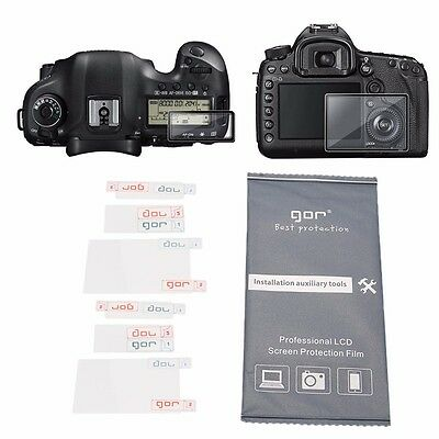New LCD Screen Protector Guard Film For Digital Camera Canon 1DX MARK II 1DXM2