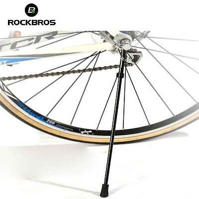 RockBros Bike Kickstand Road Bicycle Stand Portable Quick Release Axle Skewer