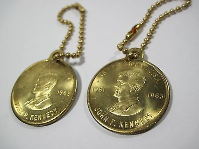 Lot John F Kennedy President Center For The Performing Arts Coin Medal Key Chain