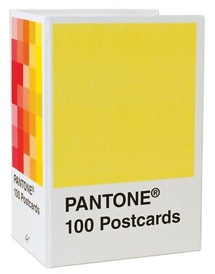 Pantone Postcard Box: 100 Postcards (Card Book), Chronicle Books, 9780811877541