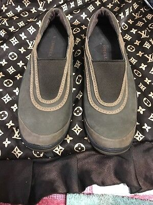 Merrell Willow Brown Nubuck Leather MOC Loafer Women's US Shoe Size 8