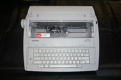 Brother GX-6750 Correctronic Electronic Typewriter. TESTED Works Excellent