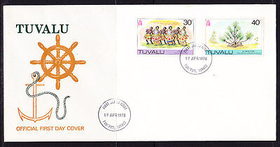 Tuvalu 1978   First Day  Cover - Unaddressed