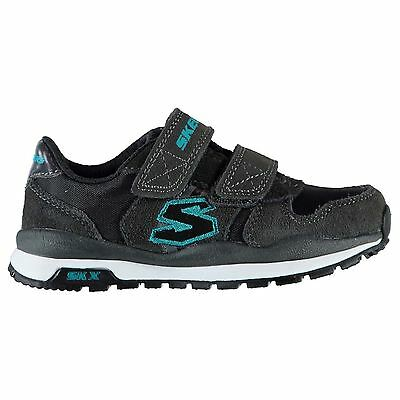 Skechers Kids Throwbax Boys Running Shoes Touch and Close Runners