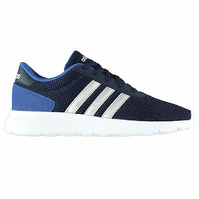 adidas Kids Lite Racer Boys Trainers Runners Lace Up Shoes Textile Breathable
