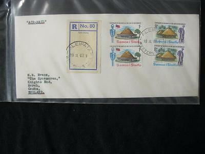 COLLECTION OF 24x WESTERN SAMOA COVERS INCLUDING DIFFERENT POSTMARKS ETC
