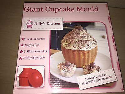 silicone giant cupcake mould