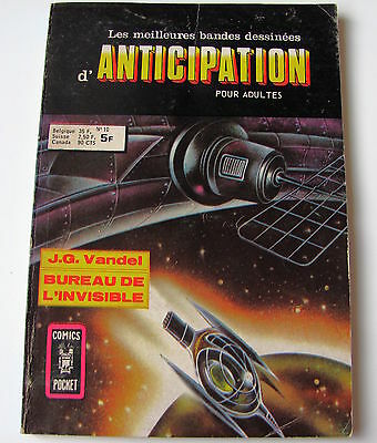Anticipation . N° 10 . Artima . Comics Pocket . 1977
