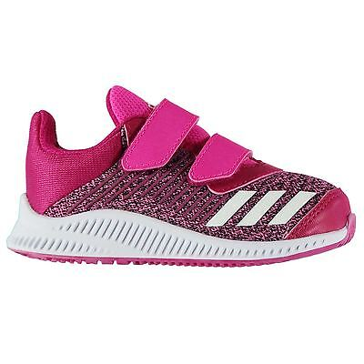 adidas Kids Forta Run Infant Girls Trainers Shoes Touch and Close Knit