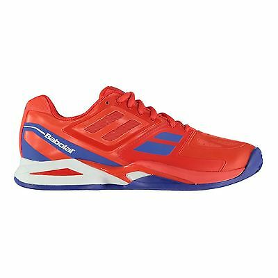 Babolat Mens Propulse Clay Court Tennis Lace Up Shoes Padded Ankle Ortholite