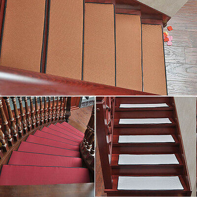 Newly Stair Mat Summer Non-Slip Stair Treads Carpet Homeware Step Rug Pads 1PC